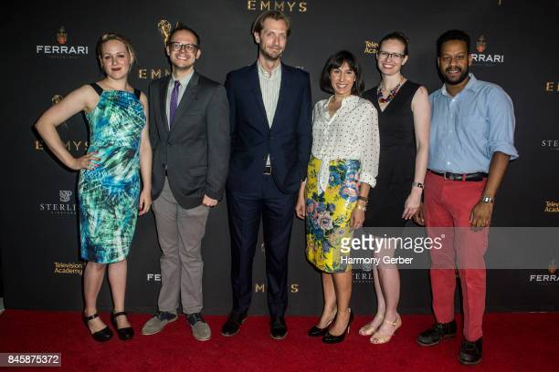 Writers Ariel Dumas Daniel Kibblesmith Gabe Gronli Jen Spyra Kate Sidley and John Thibodeaux attend the Television Academy Celebrates Nominees For...