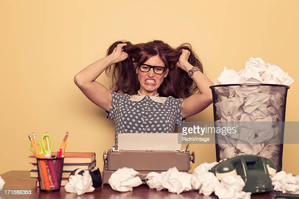 writer's block - authors stockfoto's en -beelden