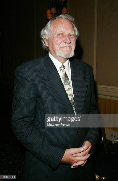 Writers Clive Cussler attends the Mystery Writers of America 57th Annual Edgar Awards at the Grand Hyatt Hotel May 1 2003 in New York City