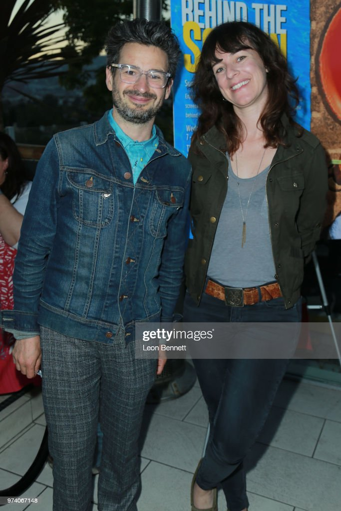 Writers David Iserson and Susanna Fogel attend Writers Guild Of America West Hosts Behind The Screen Summer 2018 Reception at The Roof On Wilshire on June 13, 2018 in Los Angeles, California.