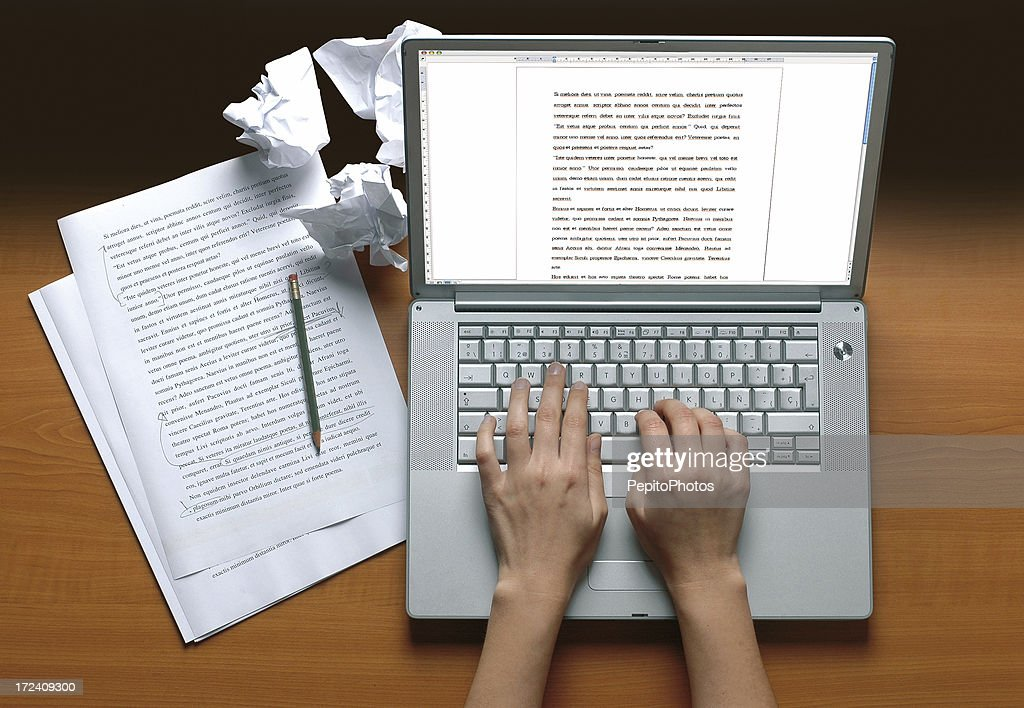 Writer's desk : Stock Photo