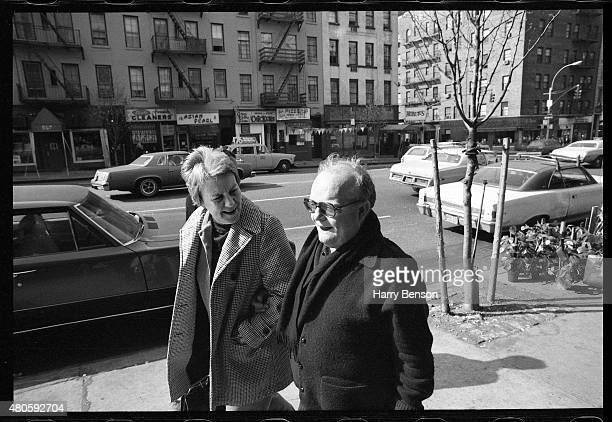 Writers Harper Lee and Truman Capote are photographed in 1976 in New York City.