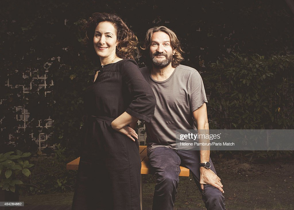 Joanna Rakoff & Frederic Beigbeder, Paris Match Issue 3405, August 27, 2014