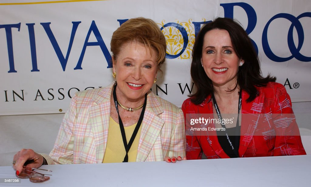 Writers Mary and Carol Higgins Clark attend the 9th Annual LA Times Festival of Books on April 25, 2004 at UCLA in Westwood, California.
