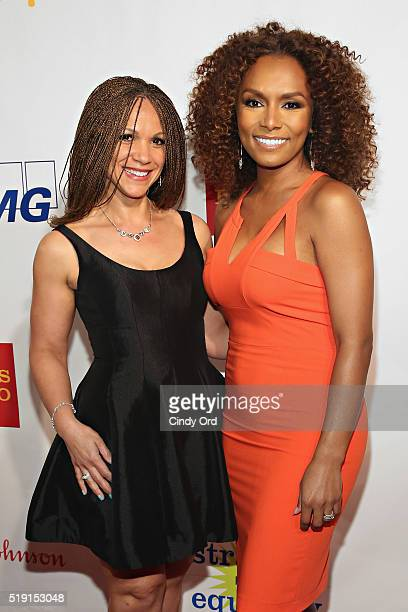 Writers Melissa HarrisPerry and Janet Mock attend PFLAG National's Eighth Annual Straight for Equality Awards Gala at The New York Marriott Marquis...