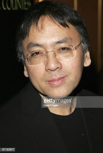 Writer/screenwriter Kazuo Ishiguro arrives at the UK Premiere of 'The White Countess' at the Curzon Mayfair on March 19 2006 in London England
