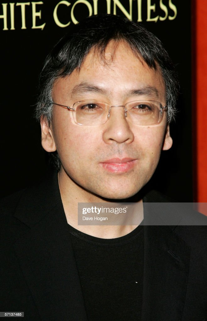 Writer/screenwriter Kazuo Ishiguro arrives at the UK Premiere of 'The White Countess' at the Curzon Mayfair on March 19, 2006 in London, England.