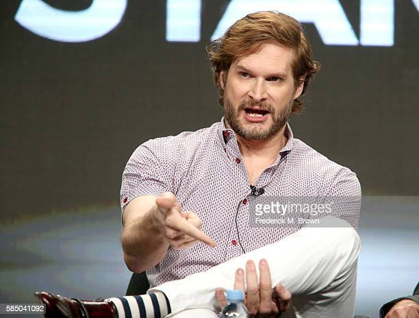 Writer/showrunner/executive producer Bryan Fuller speaks onstage during the 'American Gods' panel discussion at the Starz portion of the 2016...