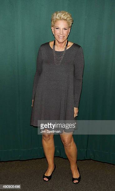 Writer/TV personality Joan Lunden signs copies of her new book Had I Known at Barnes Noble 82nd Street on October 1 2015 in New York City