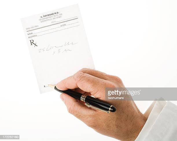 Writing a prescription