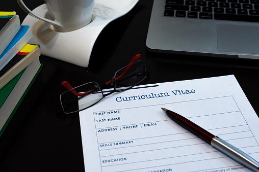 Writing curriculum vitae 1067468602