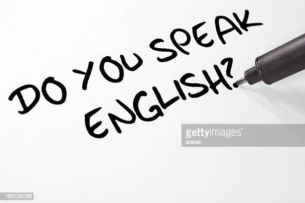 Escribir usted habla español?