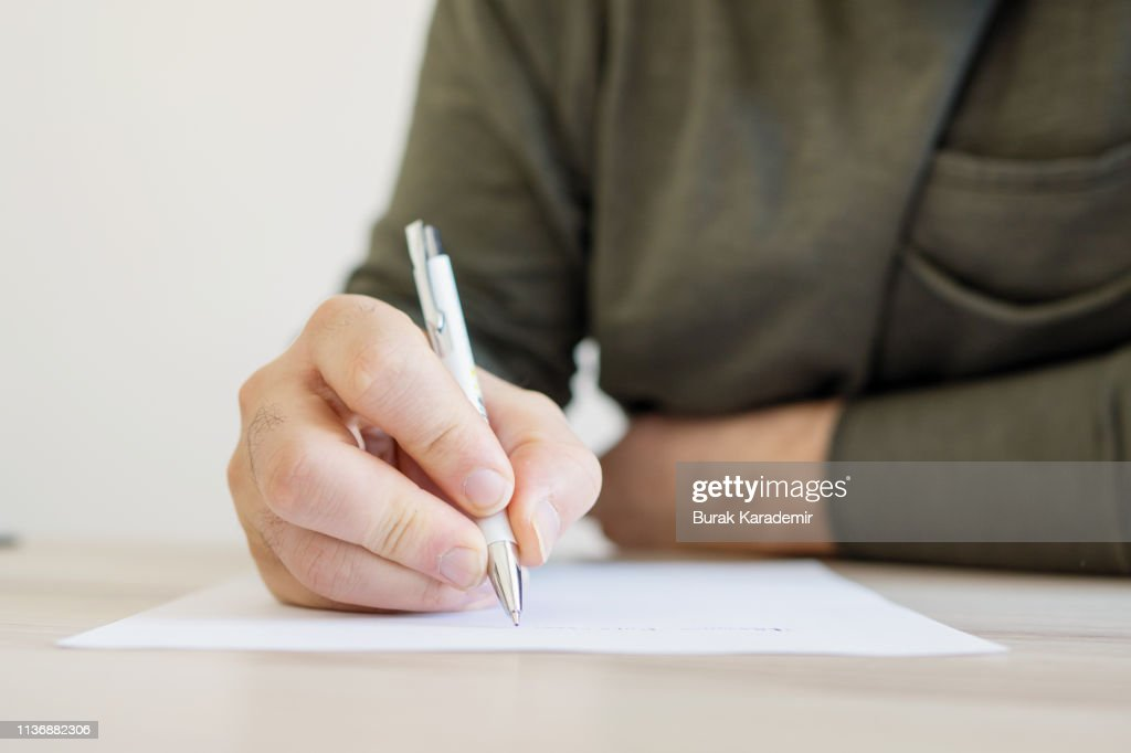 Writing letter : ストックフォト