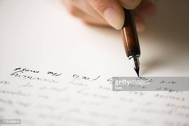 Escribir una carta a un amigo