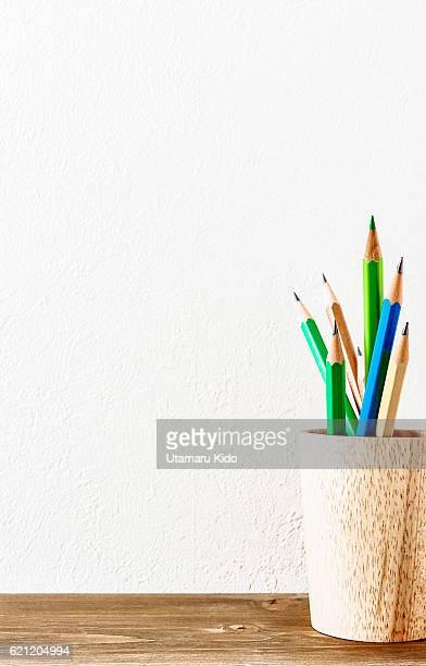 Writing materials.