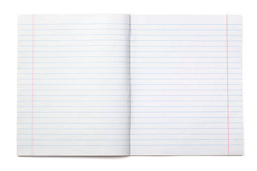 Writing notebook with lined paper (XXXL) 182385763