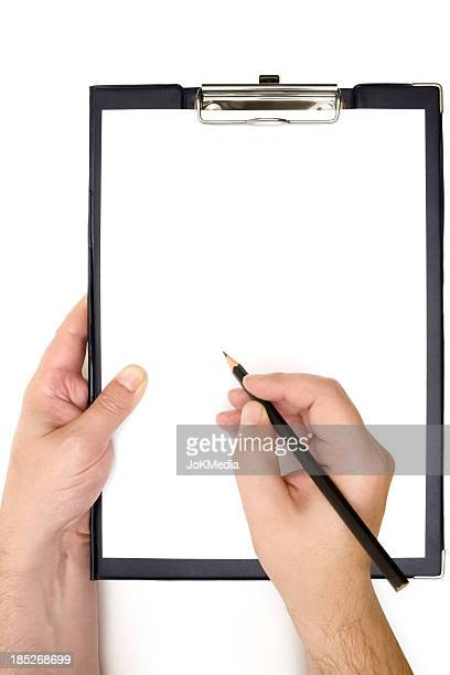 Writing on a Blank Clipboard