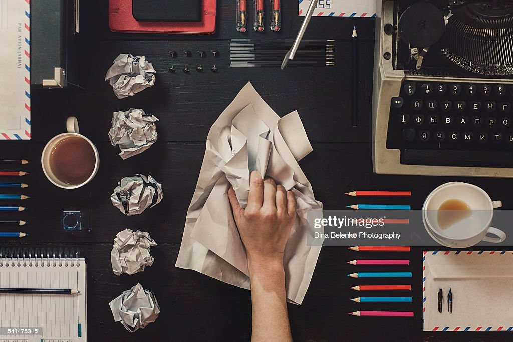 Writing : Stock Photo