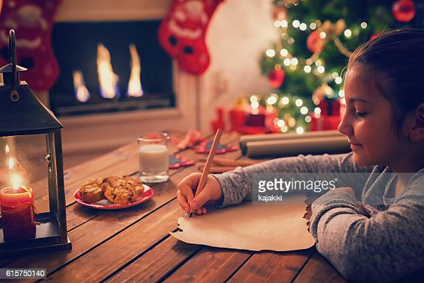 writing to santa claus - list stock pictures, royalty-free photos & images