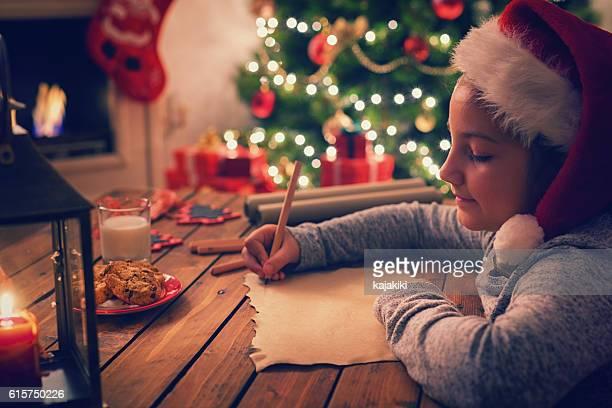 Escrito de Santa Claus