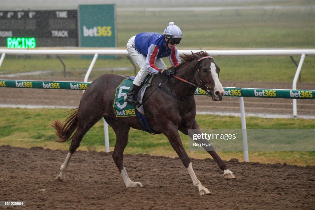 Written Attraction ridden by Stephanie Thornton wins the Rosemont Stud BM58 Handicap at Geelong Synthetic Racecourse on August 15, 2017 in Geelong, Australia.