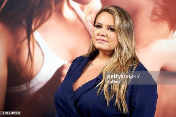 Writter Anna Todd during the presentation of film 'After' in Madrid Spain Mar 26 2019