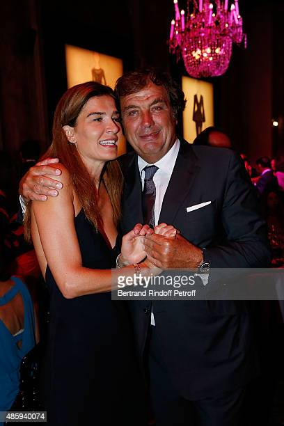 Writter Capucine Motte and Alexandre Vilgrain attend the Grand Bal de Deauville For Care France Association with Dior in Casino Barriere de Deauville...