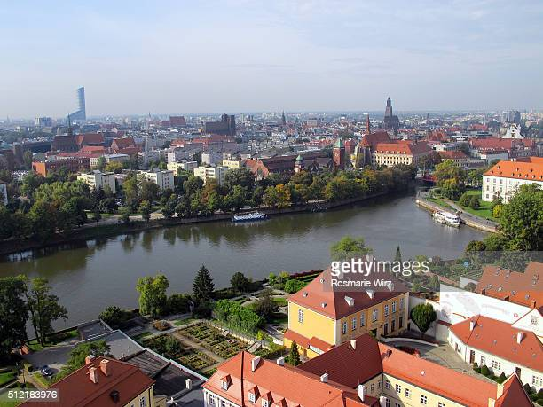 Wroclaw elevated view