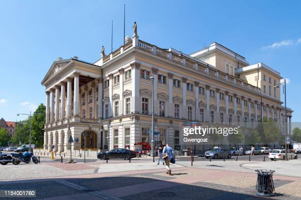 wroclaw opera - gwengoat stock pictures, royalty-free photos & images