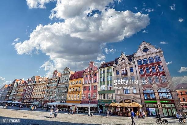 Wroclaw street vernacular architecture