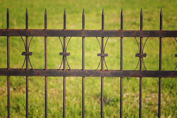 free rusty gate images