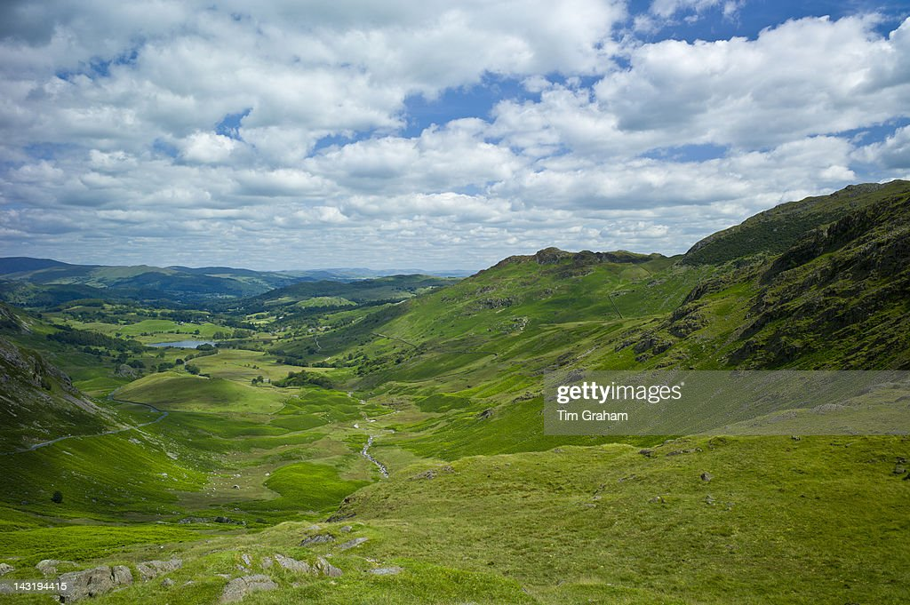 Wrynose Pass, The Lake District, UK : News Photo