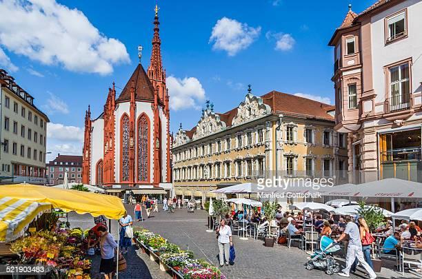 Würzburg market square