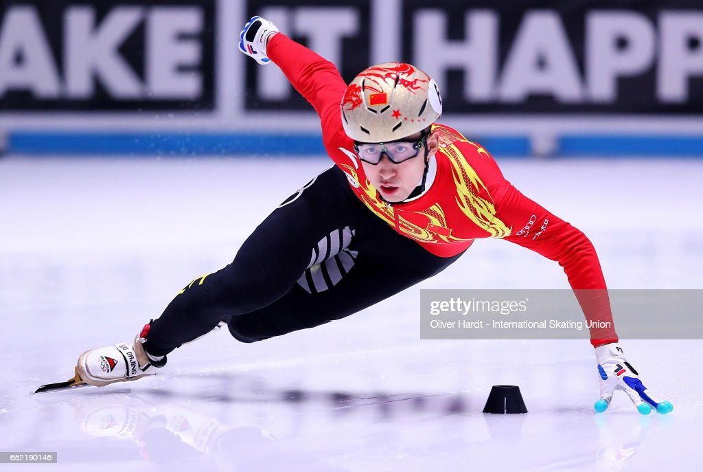 World Short track Speed Skating Championships - Rotterdam Day 1 : News Photo