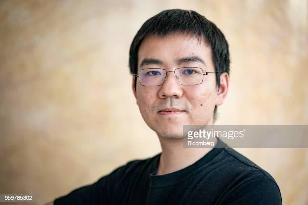 Wu Jihan cofounder of Bitmain Technologies Ltd poses for a photograph in Hong Kong China on Friday May 18 2018 The Coingeek Conference runs through...