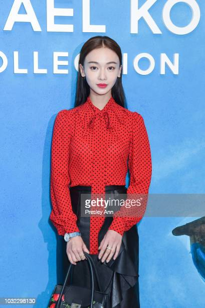 Wu Jinyan attends Michael Kors Collection Spring 2019 Runway Show at Pier 17 on September 12 2018 in New York City