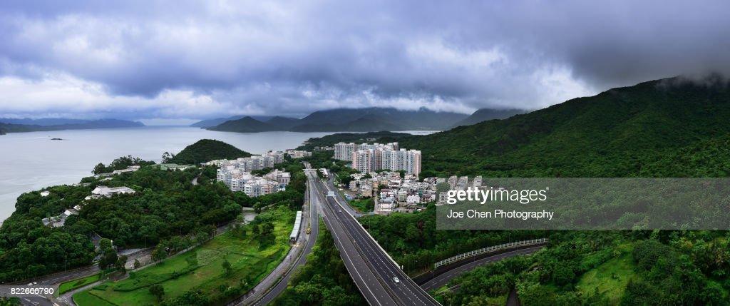 Wu Kai Sha, Hong Kong : Stock Photo