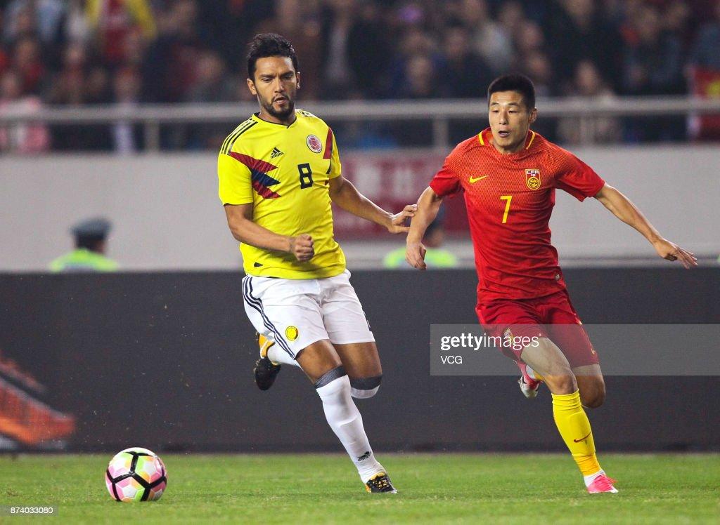 China v Columbia - International Friendly Match
