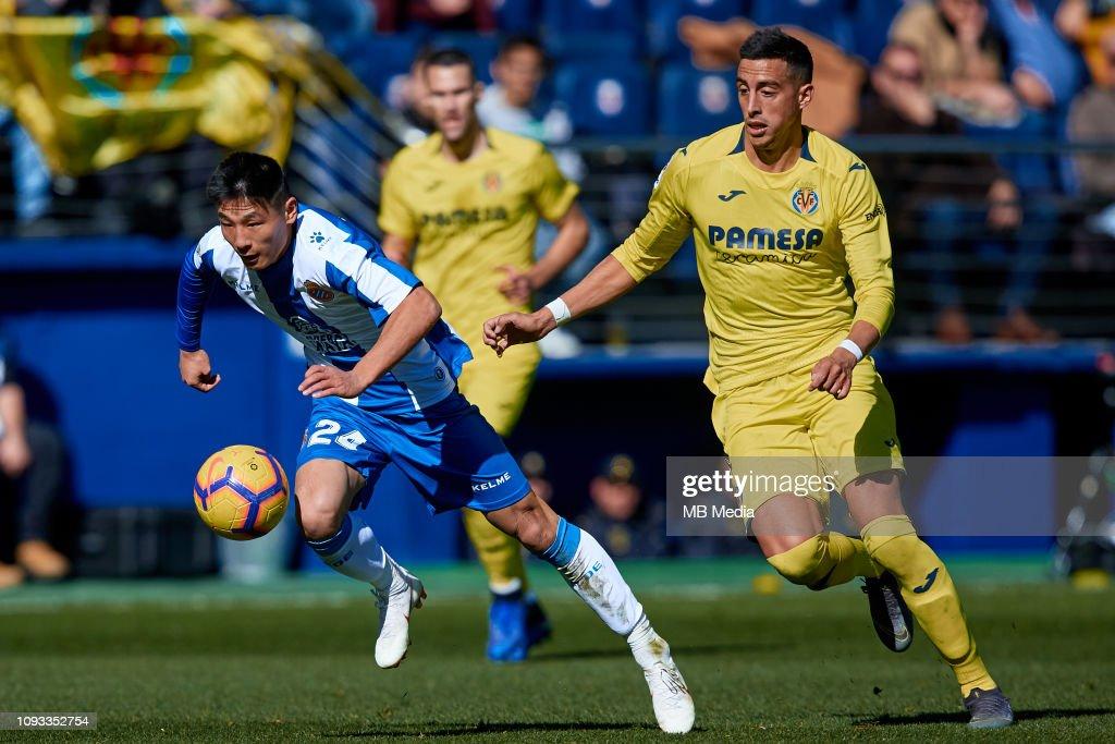 Villarreal CF v RCD Espanyol - La Liga : ニュース写真