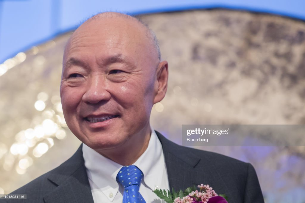 Wu Xiaobin, general manager of China and president of Beigene Ltd., attends the company's listing ceremony at the Hong Kong Stock Exchange in Hong Kong, China, on Wednesday, Aug. 8, 2018. Chinese cancer drug developer BeiGene fell on its debut in Hong Kong even as its chief executive officer laid out ambitions to become a homegrown champion as well as a global company. Photographer: Paul Yeung/Bloomberg via Getty Images