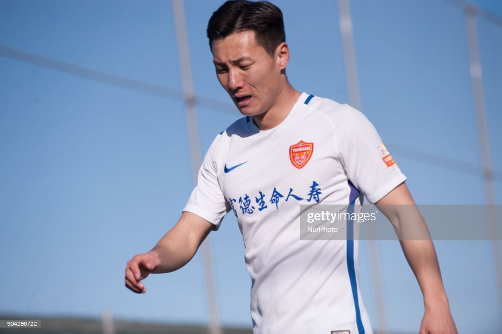 Wu Yongchun during the friendly match between Royal Charleroi SC vs.Yanbian Funde FC at Pinatar Arena, Murcia, SPAIN. 10th January of 2018.