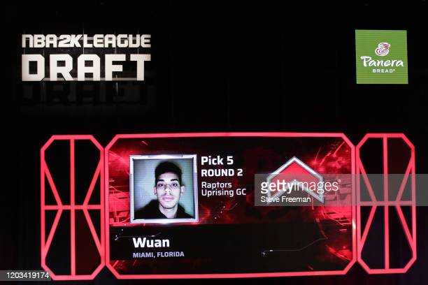 Wuan gets picked during the NBA 2K League Draft on February 22 2020 at Terminal 5 in New York New York NOTE TO USER User expressly acknowledges and...