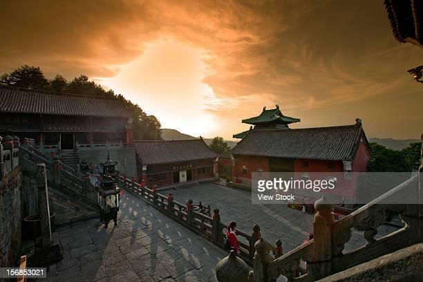 wudang mountain,hubei,china - 湖北省 ストックフォトと画像