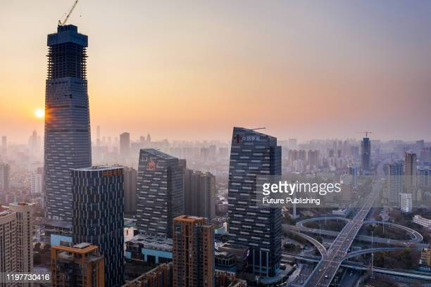 WUHAN CHINA JANUARY 30 2020 Wuhan City Hubei Province China January 30 2020 PHOTOGRAPH BY Costfoto / Barcroft Media