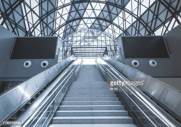 wuhan metro line 2, crocodile mouth metro station. - wuhan stock pictures, royalty-free photos & images