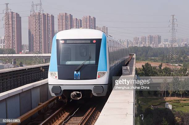 Wuhan metro line one train