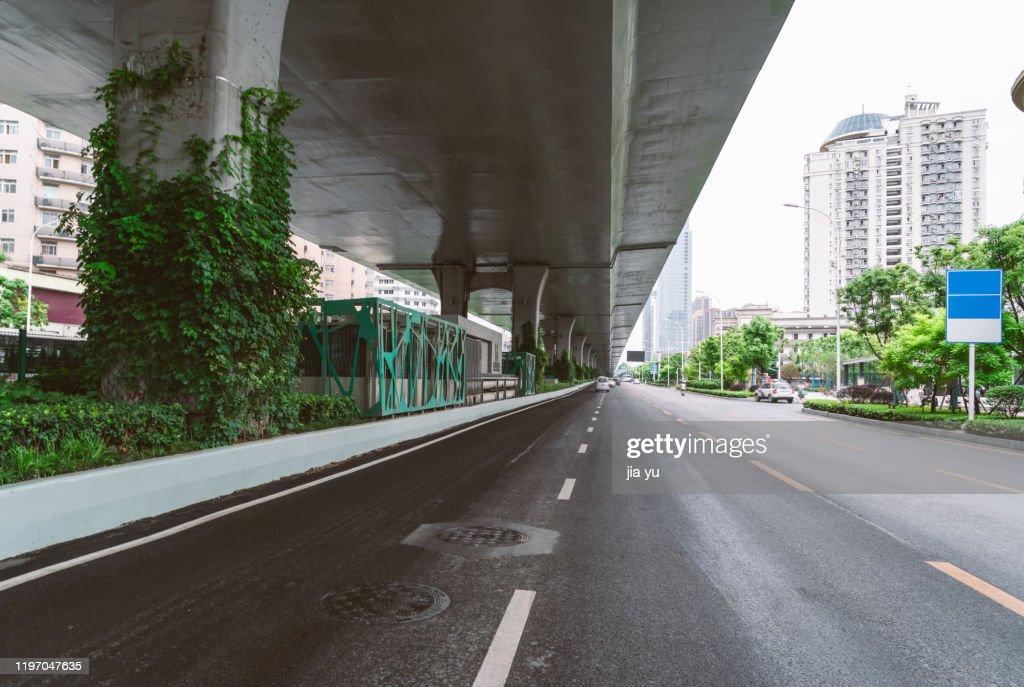 Wuhan Urban Viaduct : Stock Photo