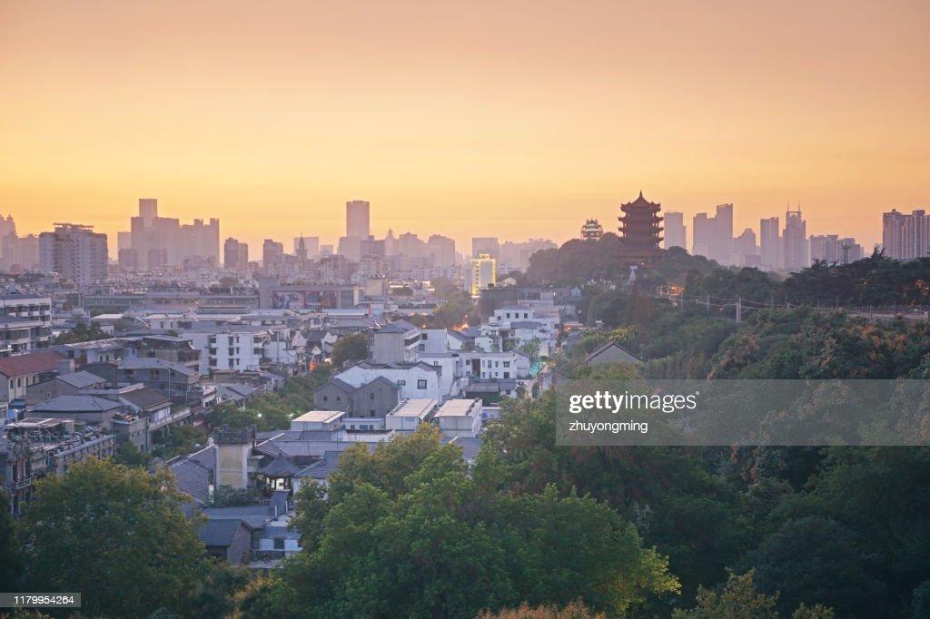 Wuhan Yellow Crane Tower,Hubei Province : Stock Photo