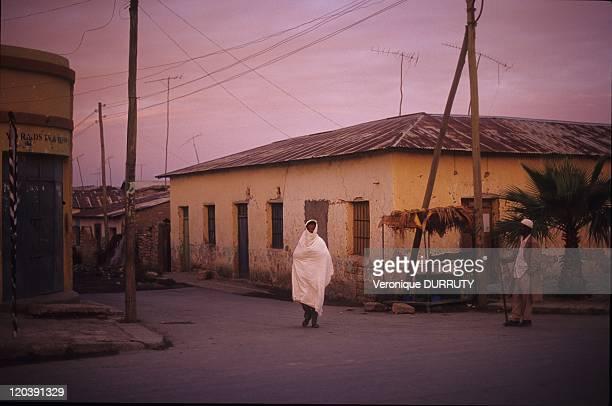 Wukro village in Tigray Ethiopia