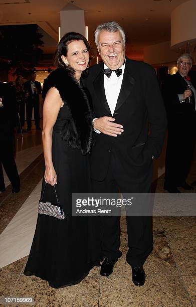Wulf Bernotat and Constanze Krieger attend the annual press ball 'Bundespresseball' at Hotel Intercontinental on November 26, 2010 in Berlin, Germany.